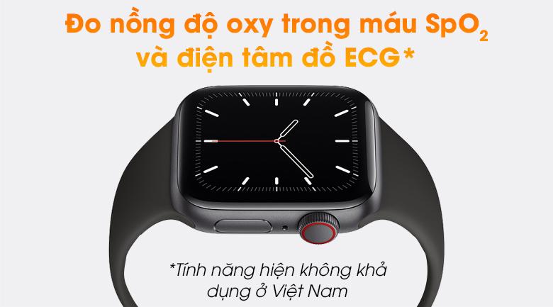 Apple Watch SE LTE 40mm viền nhôm dây cao su có thêm tính năng hiện đại
