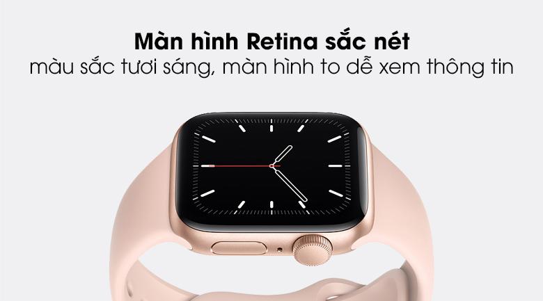 Apple Watch SE 40mm sử dụng công nghệ màn hình OLED