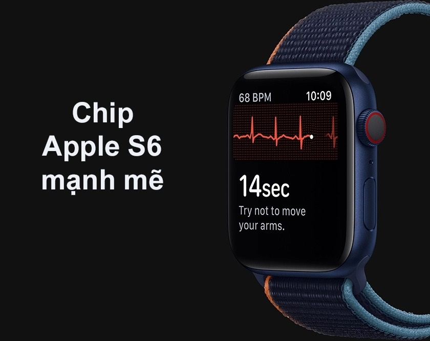 Chip Apple S6 mạnh mẽ