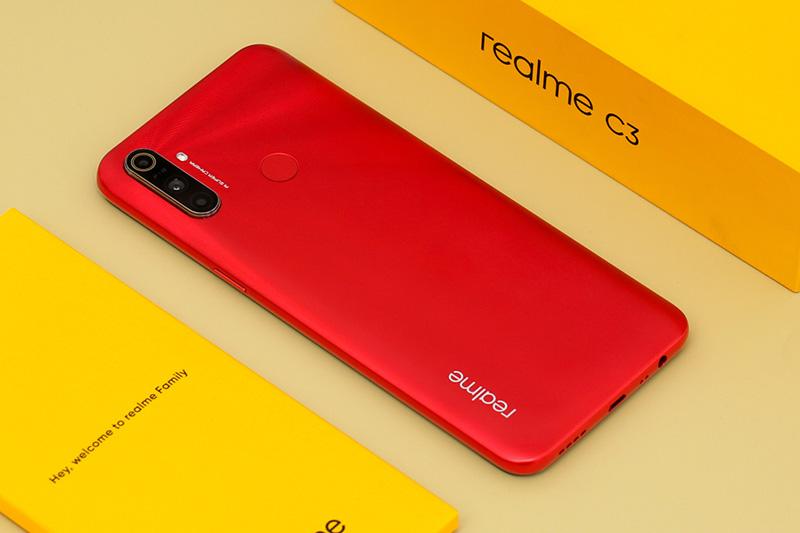Điện thoại Realme C3 | Hiệu năng tốt trên tầm giá