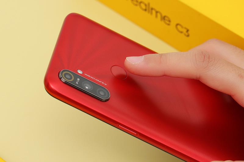 Điện thoại Realme C3 | Cảm biến vân tay