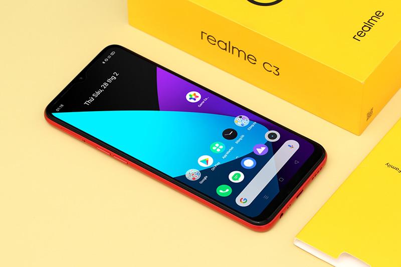 Điện thoại Realme C3 | Màn hình
