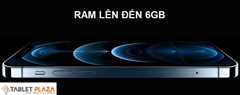 RAM 6GB đa nhiệm thoải mái, bộ nhớ trong dung lượng lớn