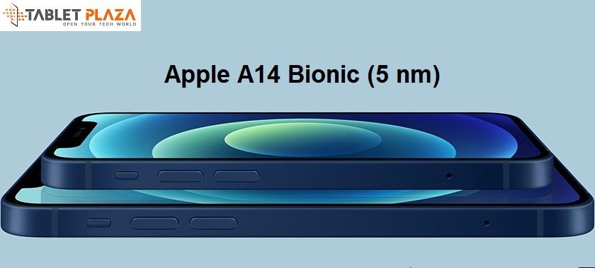 Trang bị chip Apple A14 và RAM 4GB, ROM 64GB