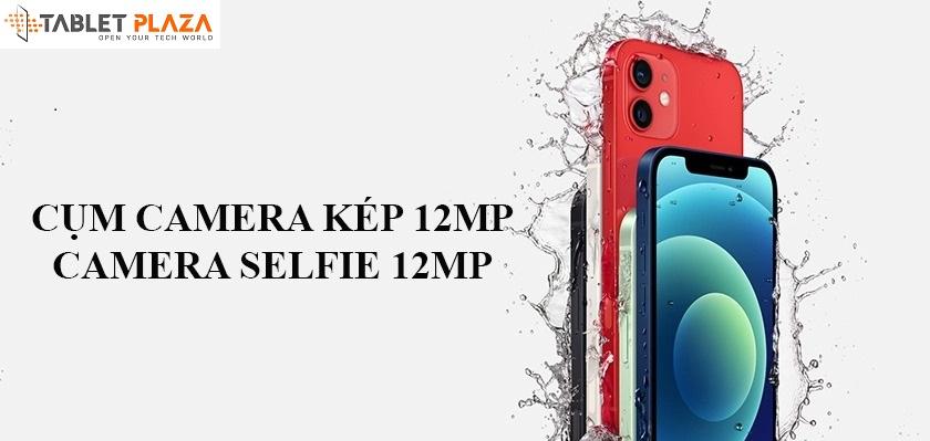 Camera sau cảm biến chính 64MP được trang bị máy quét LiDar