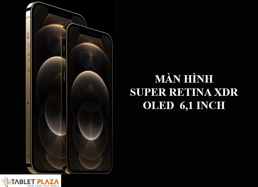 Thiết kế đột phá kiểu mới khung thép không gỉ, màn hình Super Retina 6.1 inch