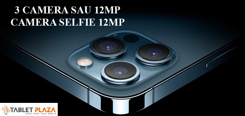 Bộ ba camera sau + cảm biến LiDAR, camera trước siêu sắc nét