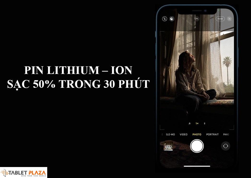 Pin lithium – ion dung lượng cao, hỗ trợ sạc nhanh, hỗ trợ 5G tốc độ cao