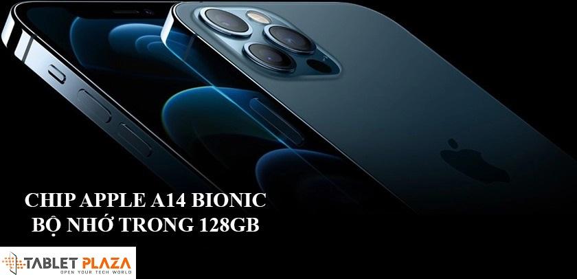 Cấu hình hiệu năng mạnh mẽ với chip Apple A14 Bionic